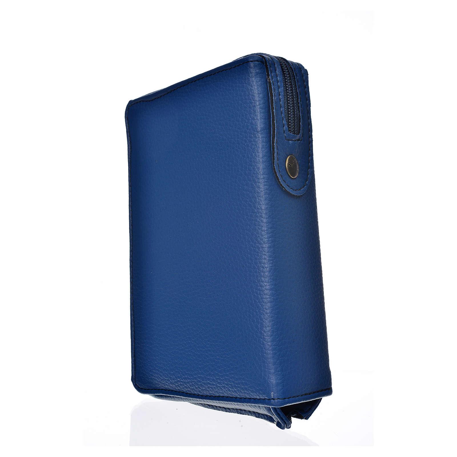 Funda Sagrada Biblia CEE ED. Pop. azul simil c. Pantocrator 4