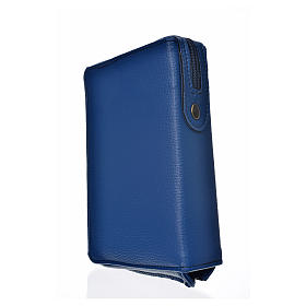 Funda Sagrada Biblia CEE ED. Pop. azul simil c. Pantocrator s2