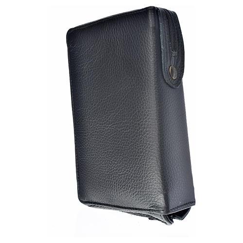 Funda Sagrada Biblia CEE ED. Pop. simil cuero negro Pantocrator 2