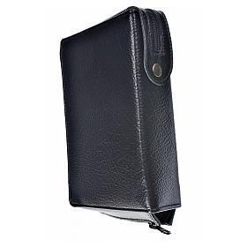 Funda Sagrada Biblia CEE ED. Pop. negro simil cuero Sagrada Fami s2
