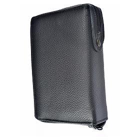 Funda Sagrada Biblia CEE ED. Pop. cuero negro Sagrada Familia s2