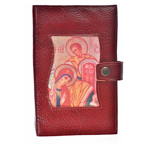 Funda Sagrada Biblia CEE ED. Pop. simil cuero burdeos 1