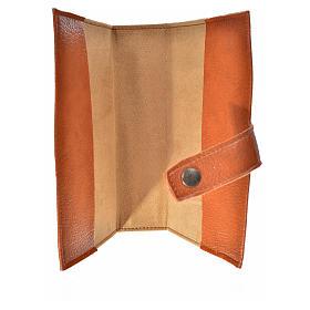 Funda Sagrada Biblia CEE ED. Pop. marrón simil cuero s3