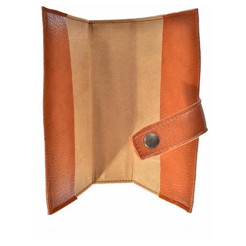 Funda Sagrada Biblia CEE ED. Pop. marrón simil cuero 3