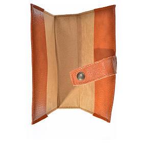Funda Sagrada Biblia CEE ED. Pop. simil cuero marrón Virgen Niño s3