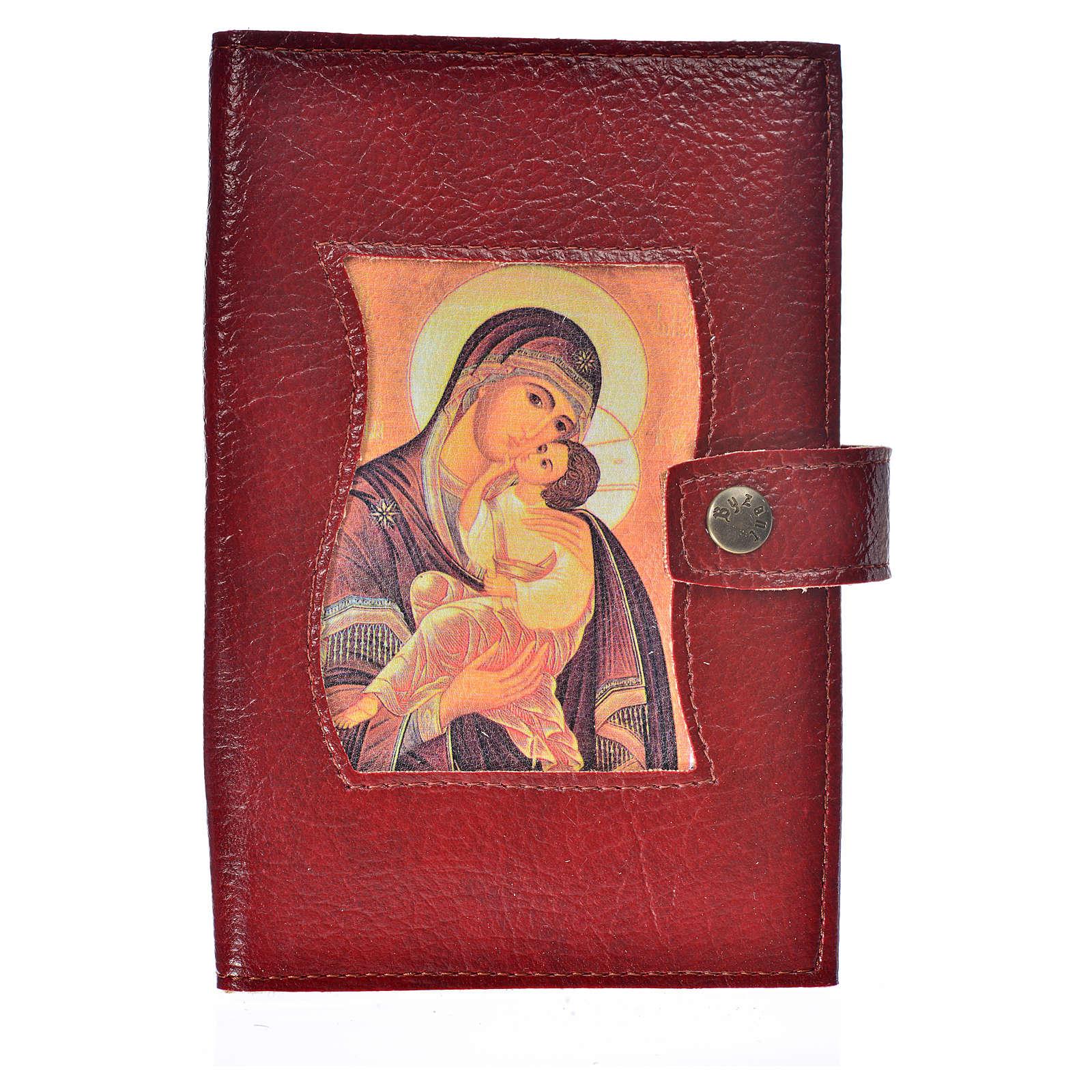 Funda Sagrada Biblia CEE ED. Pop. simil cuero V. Ternura burdeos 4