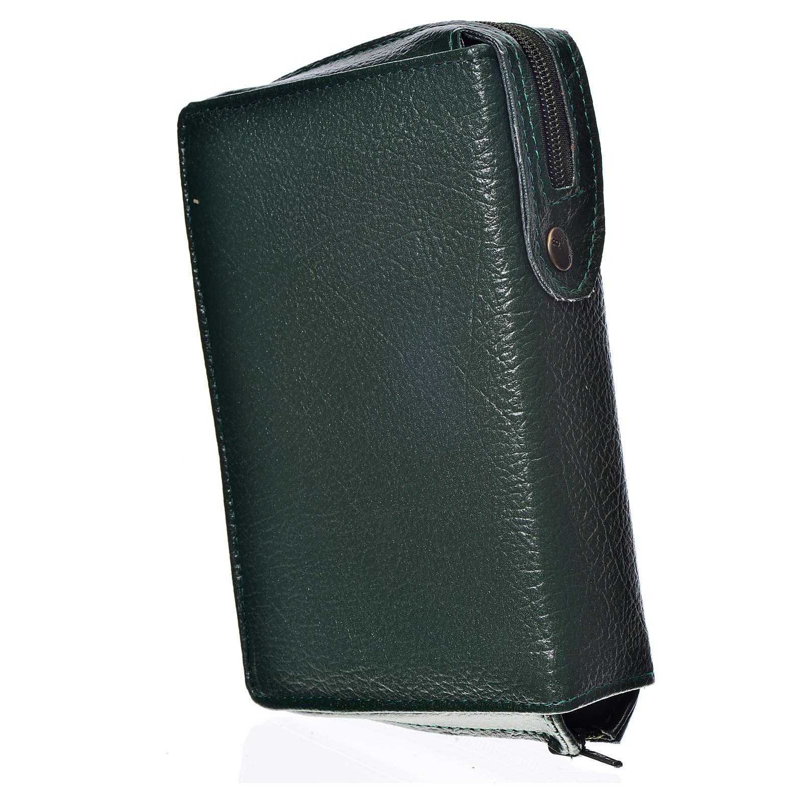 Funda Biblia CEE grande simil cuero verde S. Trinidad 4