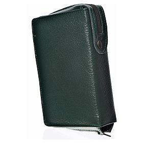 Funda Biblia CEE grande simil cuero verde S. Trinidad s2