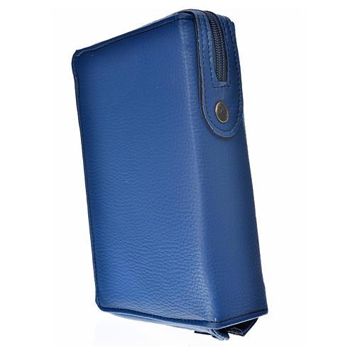 Funda Biblia CEE grande azul simil cuero V. Ternura 2