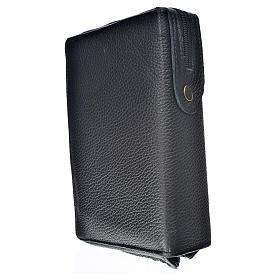 Funda Biblia CEE grande marrón oscuro cuero Pantocrátor s2