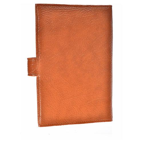 Funda Biblia CEE grande simil cuero marrón 2