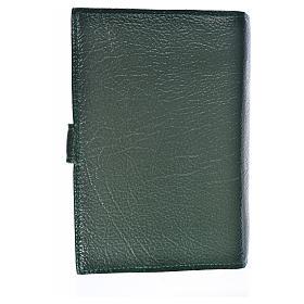 Funda Biblia CEE grande Virgen T. simil cuero verde s2