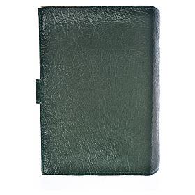 Funda Biblia CEE grande Virgen Niño cuero verde s2
