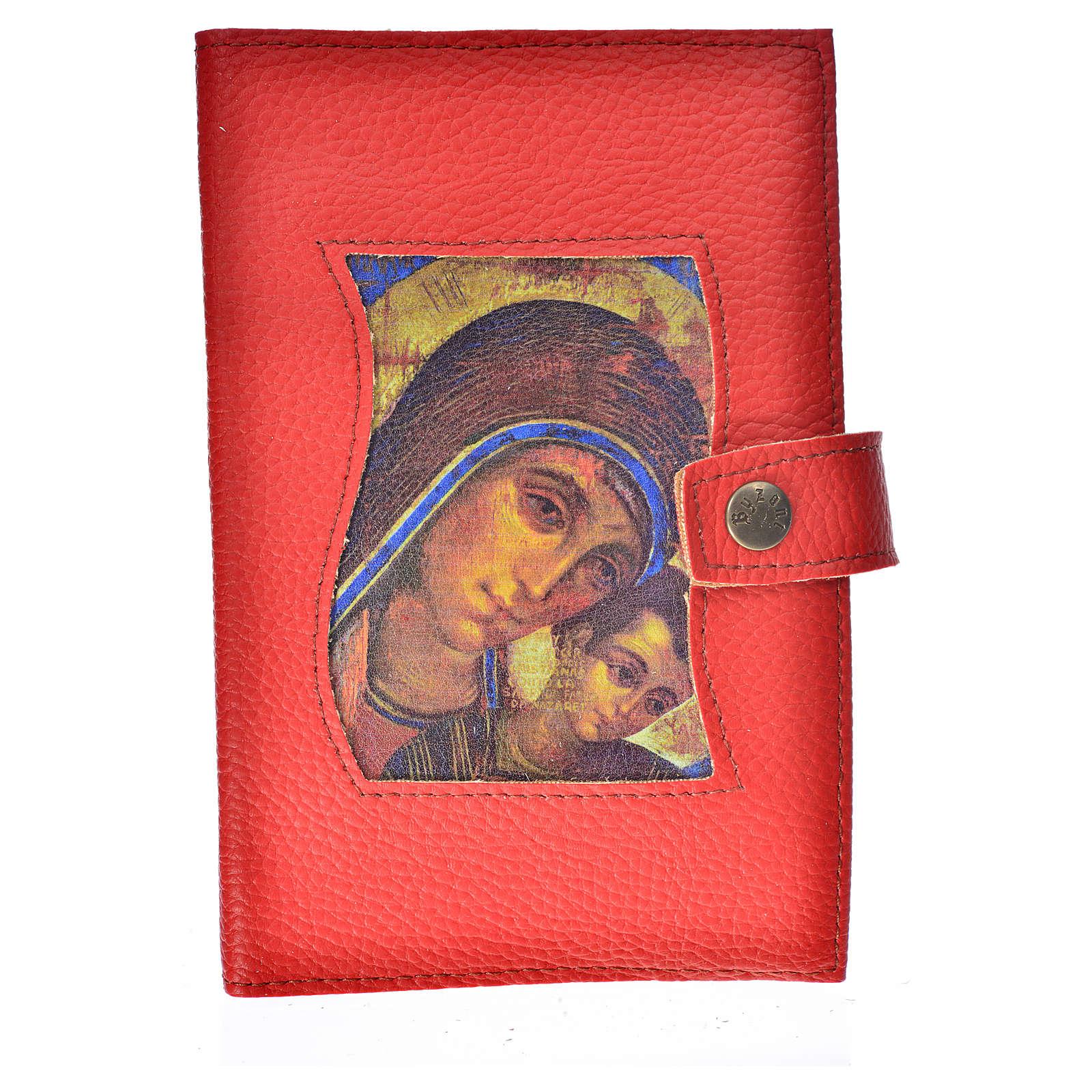 Funda Biblia CEE grande simil cuero V. Kiko rojo 4