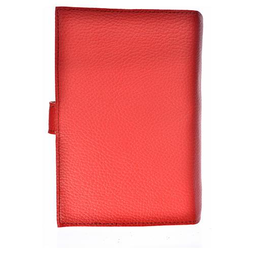 Funda Biblia CEE grande simil cuero V. Kiko rojo 2