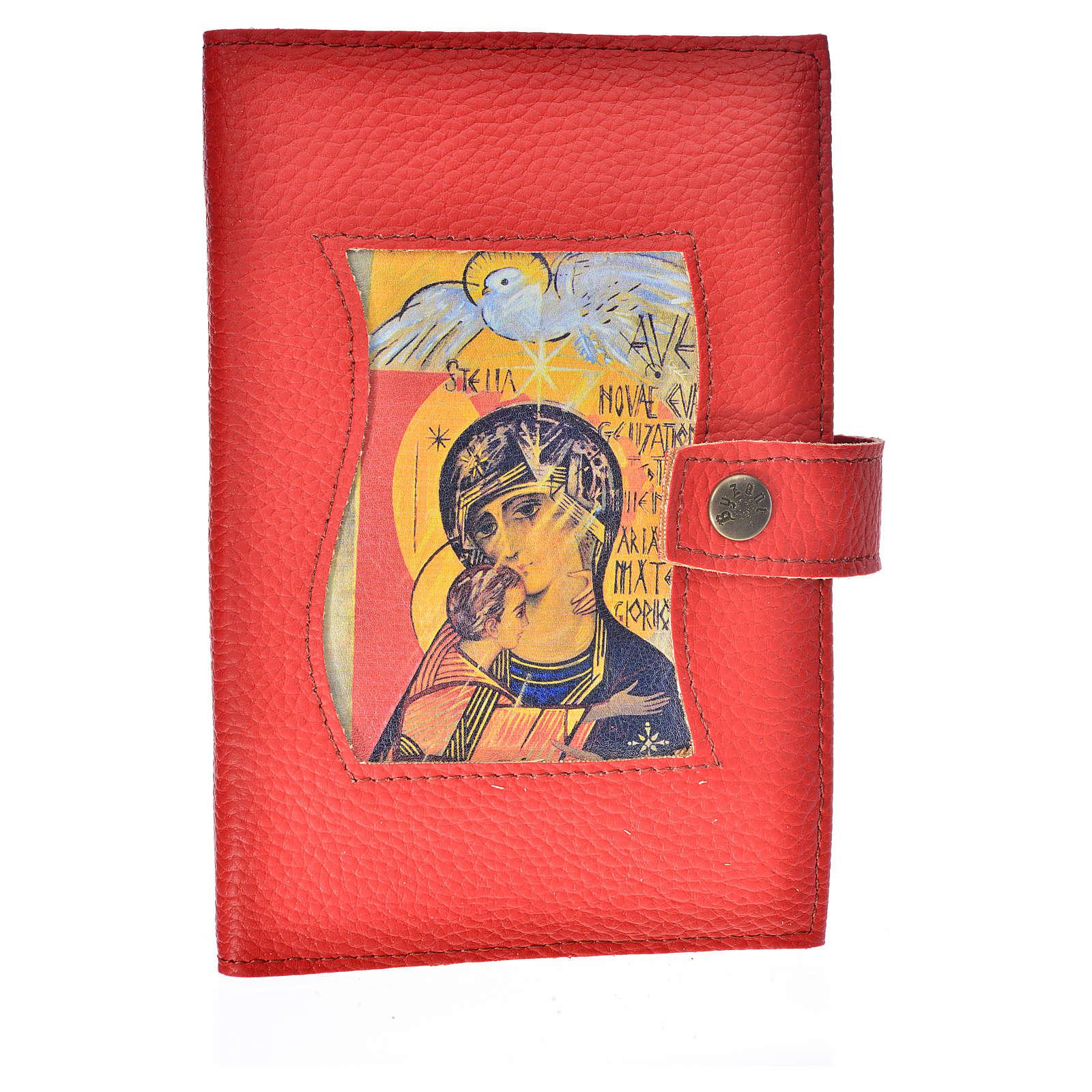 Funda Biblia CEE grande simil cuero Virgen 3 Milenio 4