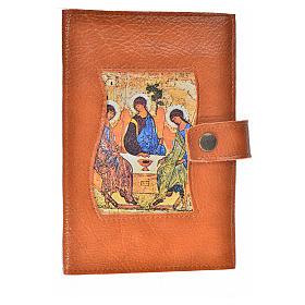 Funda Biblia CEE grande simil cuero marrón Trinidad s1