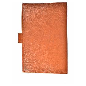 Funda Biblia CEE grande simil cuero marrón Trinidad s2