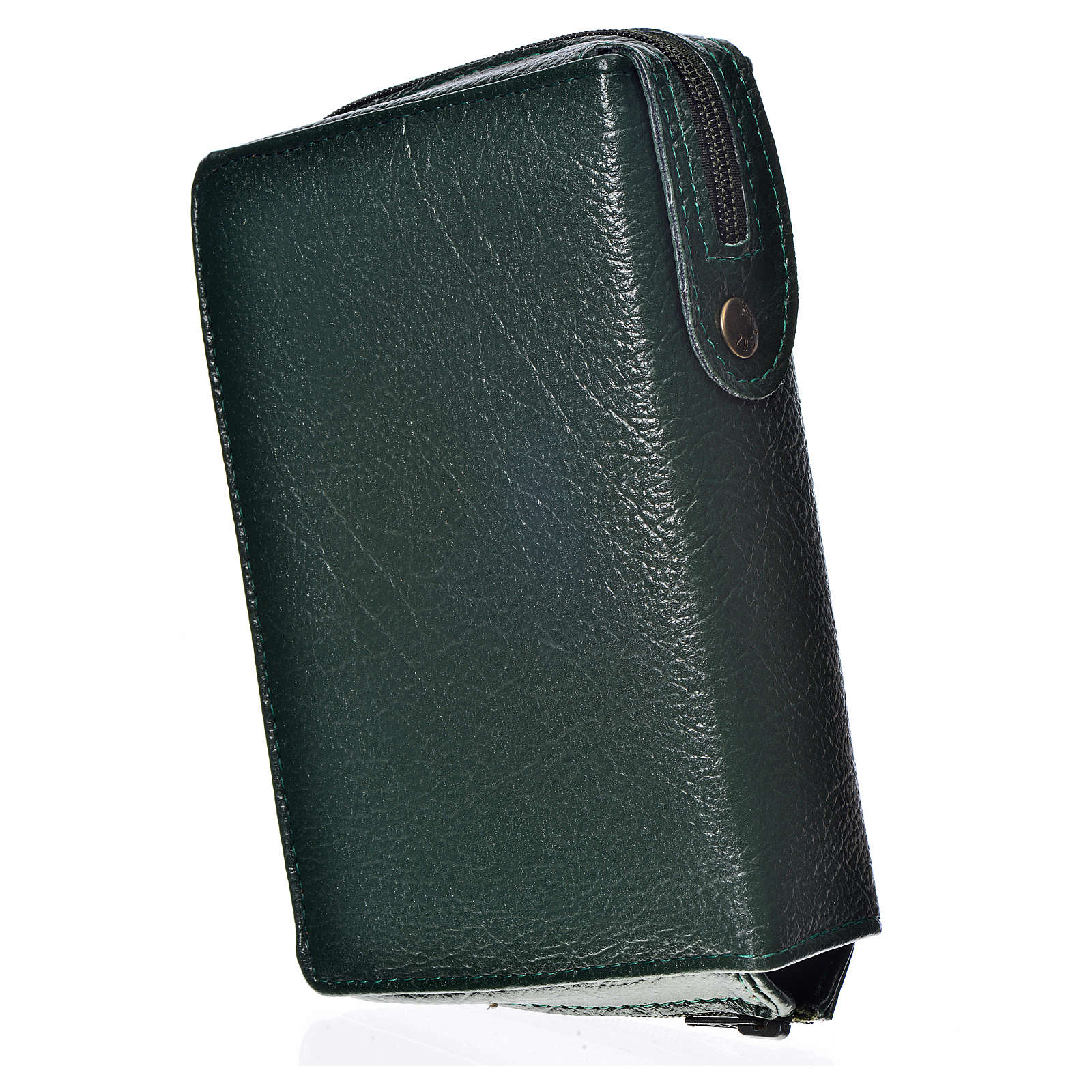 Funda Biblia Jerusalén Nueva Edición verde simil cuero Pantocrát 4