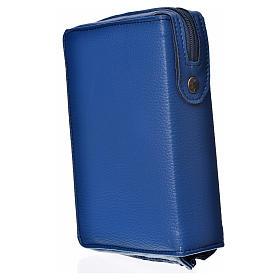 Funda Biblia Jerusalén Nueva Edición azul simil cuero s2