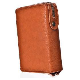 Funda Biblia Jerusalén Nueva Edición marrón simil cuero Sagrada s2