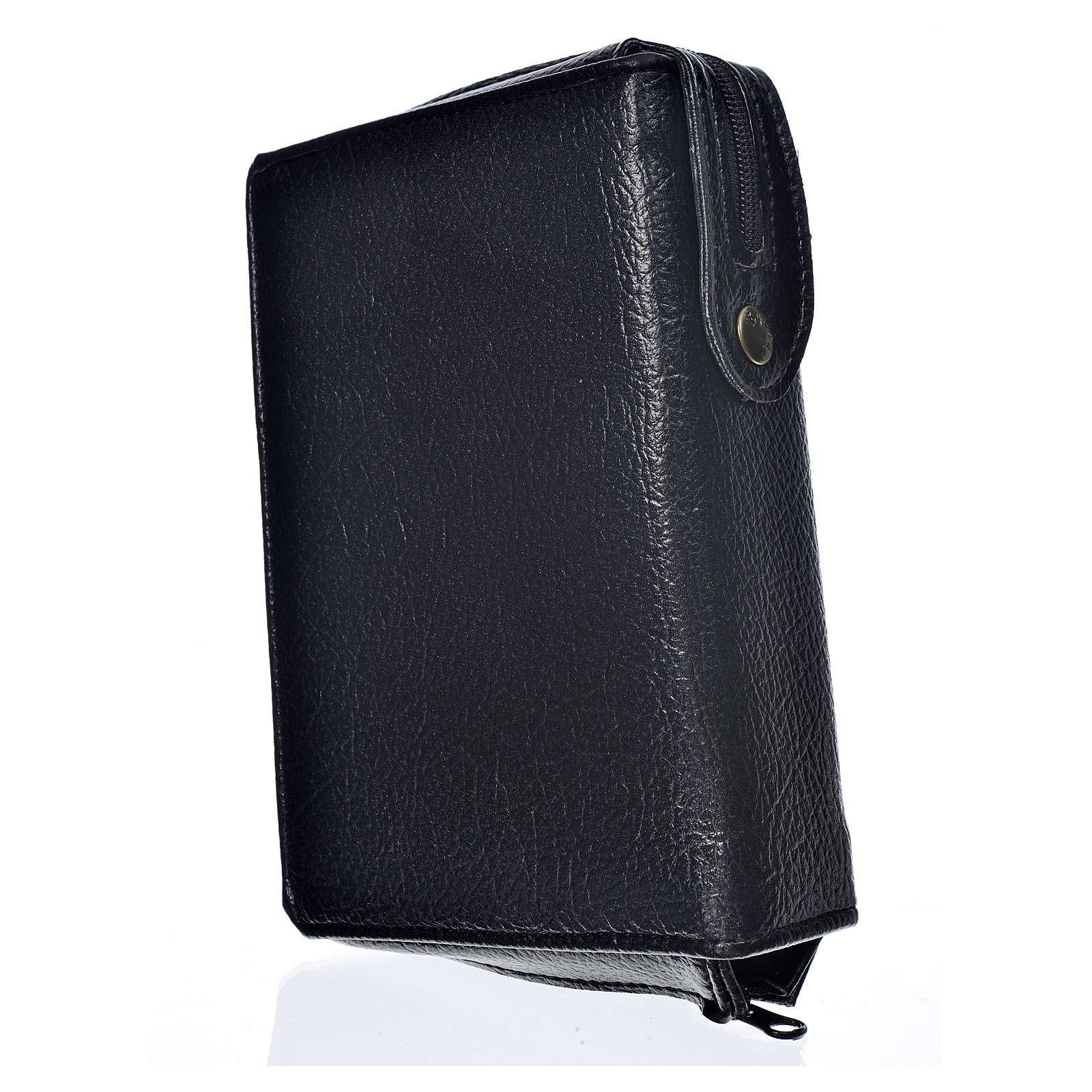Funda Biblia Jerusalén Nueva Edición negro simil cuero 4