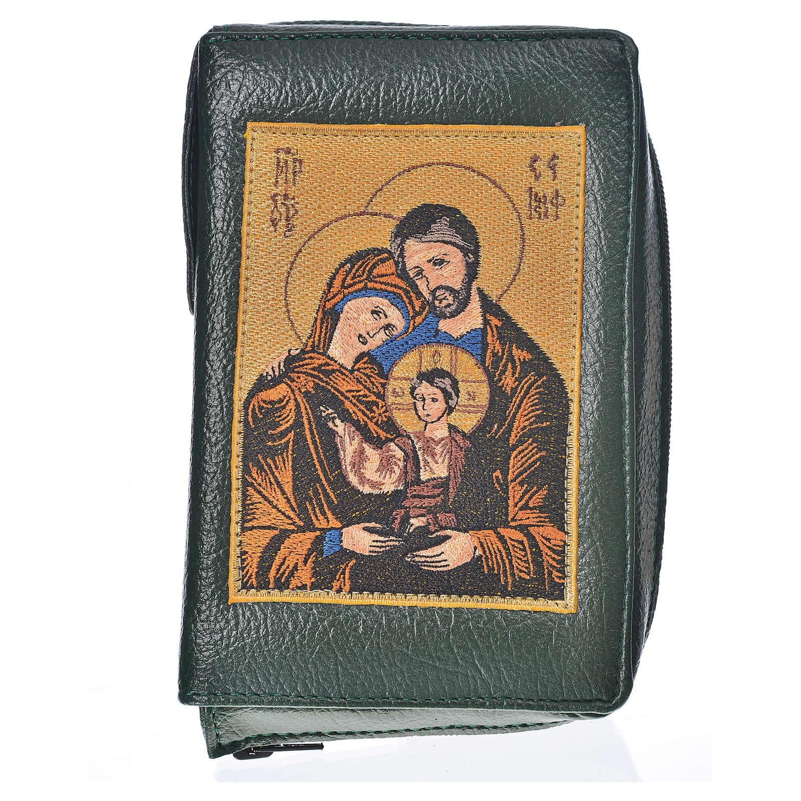 Funda Biblia Jerusalén Nueva Edición verde simil cuero S. Famili 4