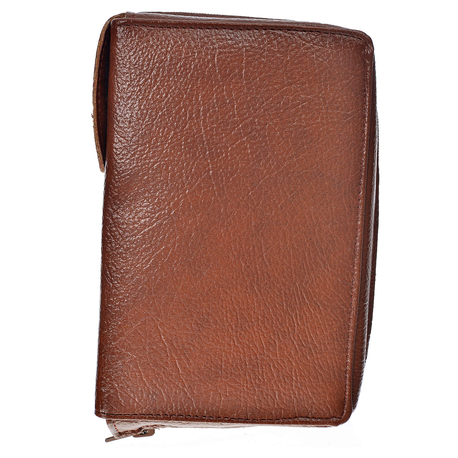 Funda Biblia Jerusalén Nueva Edición color cuero oscuro simil cu 4