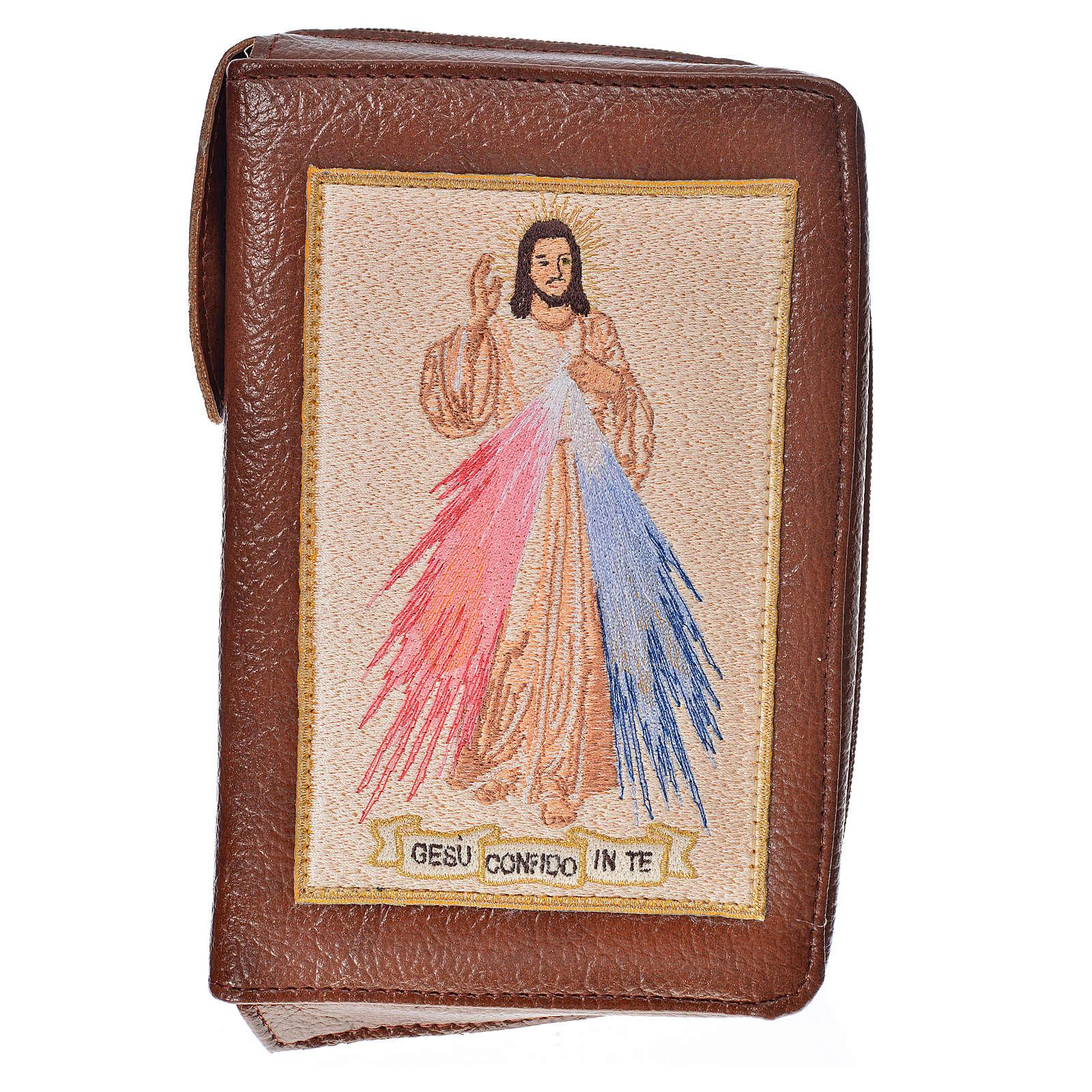 Funda Biblia Jerusalén Nueva Edición color cuero s. cuero Divina 4