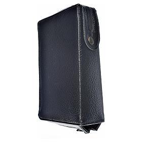 Funda Biblia Jerusalén Nueva Ed. negro simil cuero Virgen Niño s2