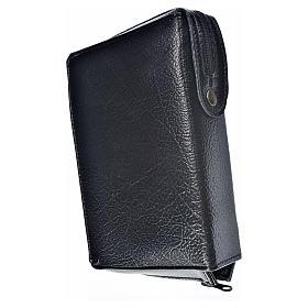 Funda Biblia Jerusalén Nueva Ed. negro simil cuero S. Trinidad s2