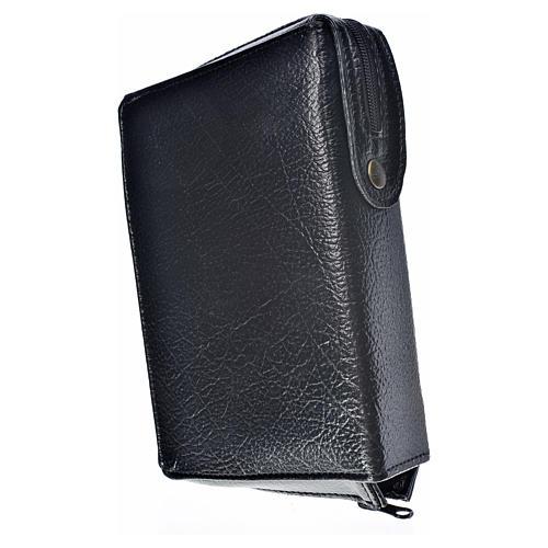 Funda Biblia Jerusalén Nueva Ed. negro simil cuero S. Trinidad 2