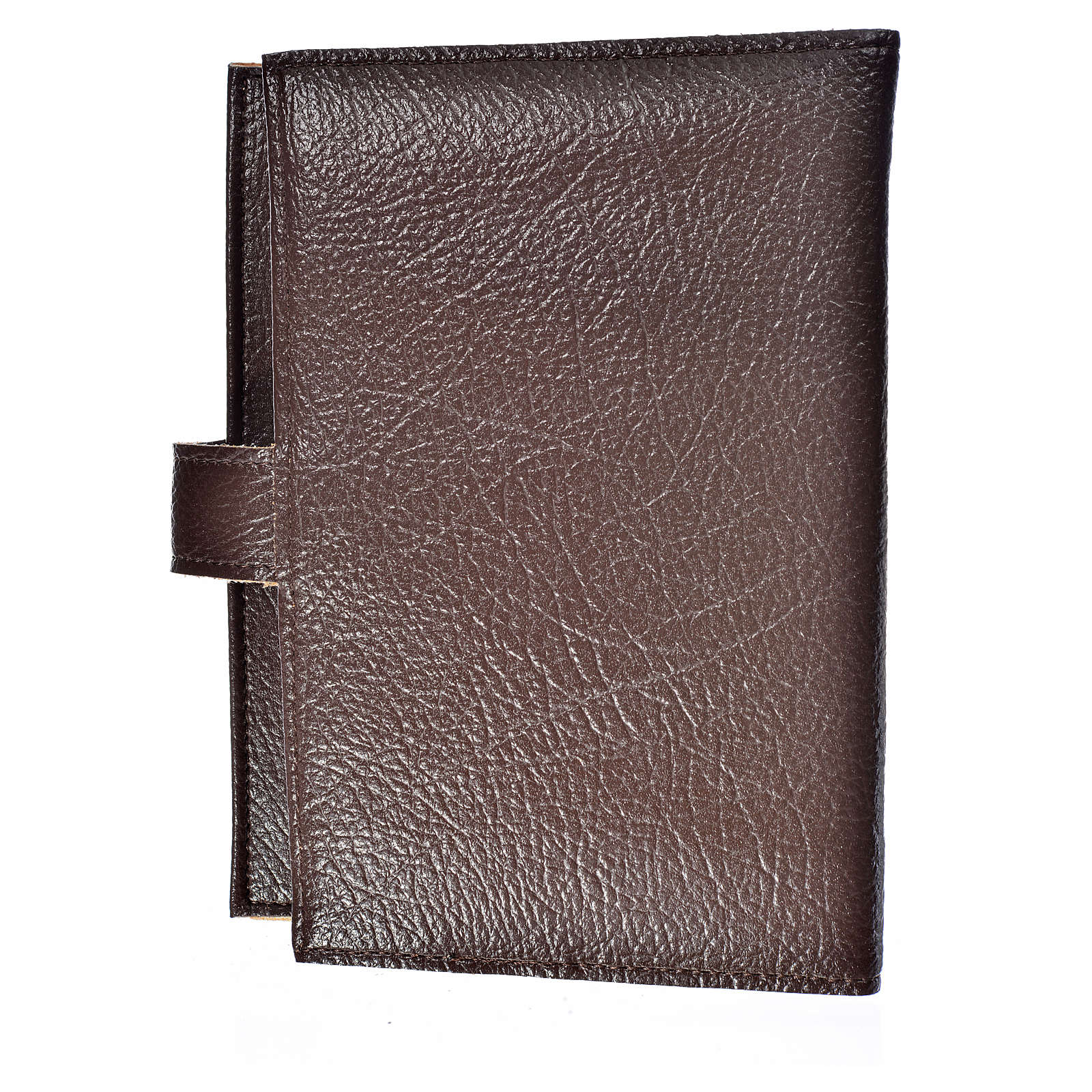 Funda Biblia Jerusalén Nueva Ed. Trinidad s. cuero marrón oscuro 4