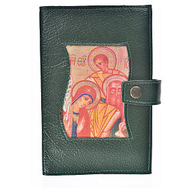 Funda Biblia Jerusalén Nueva Ed. S. Familia s. cuero verde s1