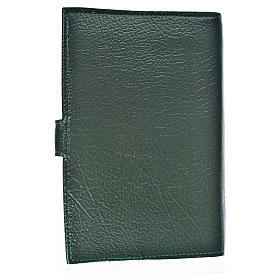 Funda Biblia Jerusalén Nueva Ed. S. Familia s. cuero verde s2