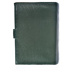 Funda Biblia Jerusalén Nueva Ed. simil cuero verde Virgen Niño s2