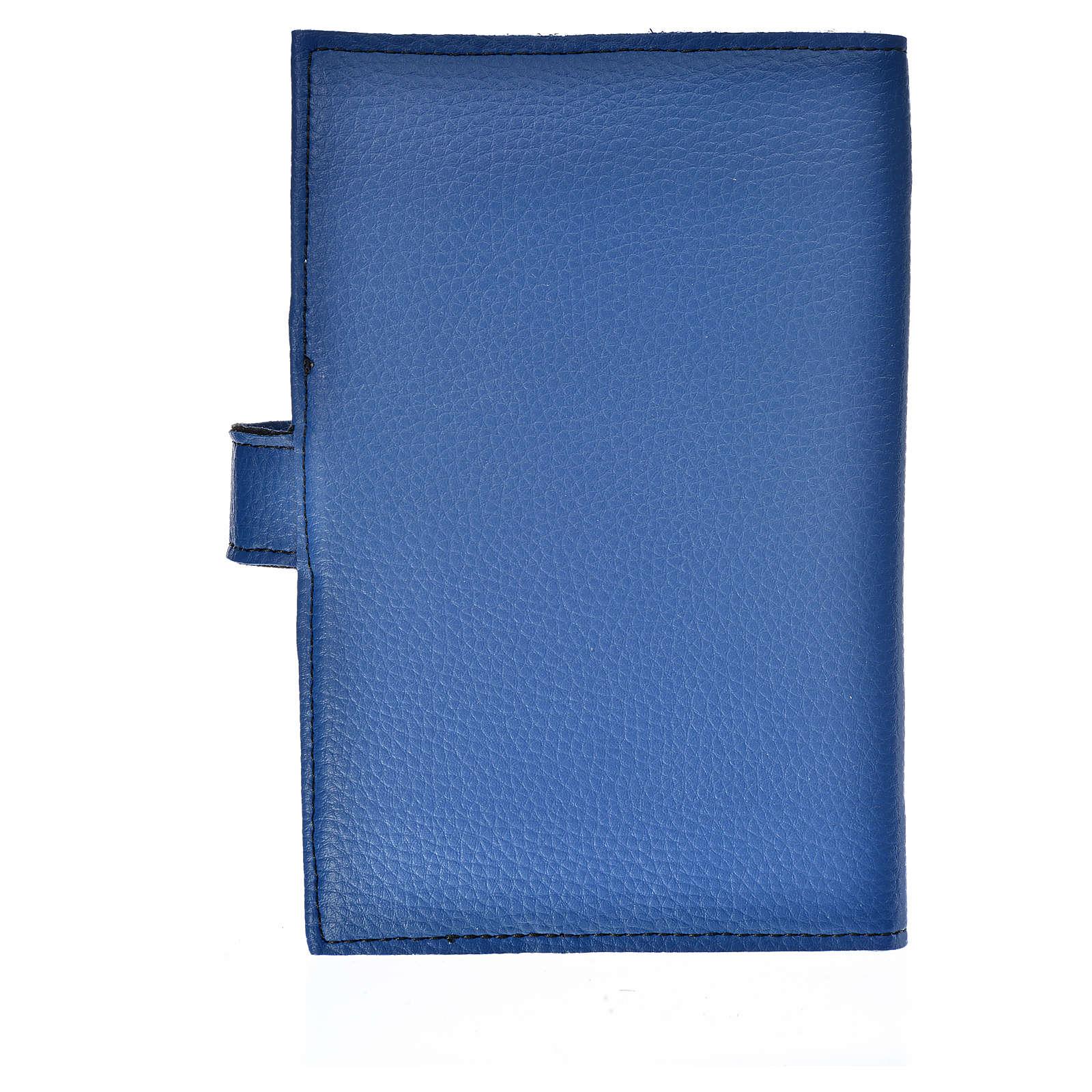Funda Biblia Jerusalén Nueva Ed. simil cuero azul Trinidad 4