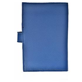 Funda Biblia Jerusalén Nueva Ed. simil cuero azul Trinidad s2