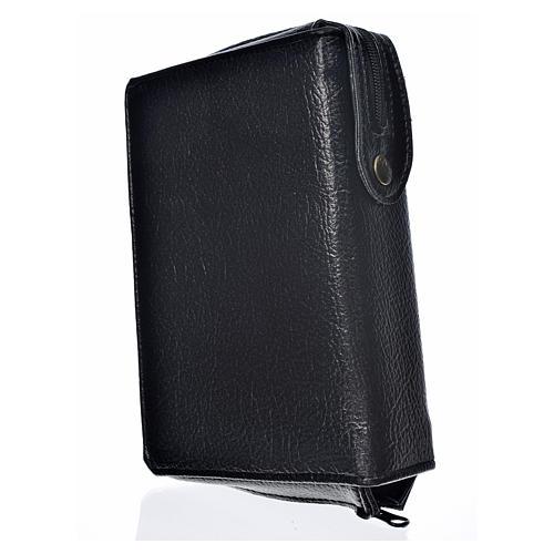 Funda Biblia Jerusalén Letra Grande ESPAÑA negro simil cuero 2