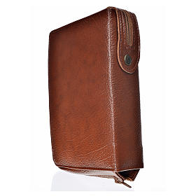 Hardcover New Jerusalem Bible in bonded leather with image of Holy Family s2