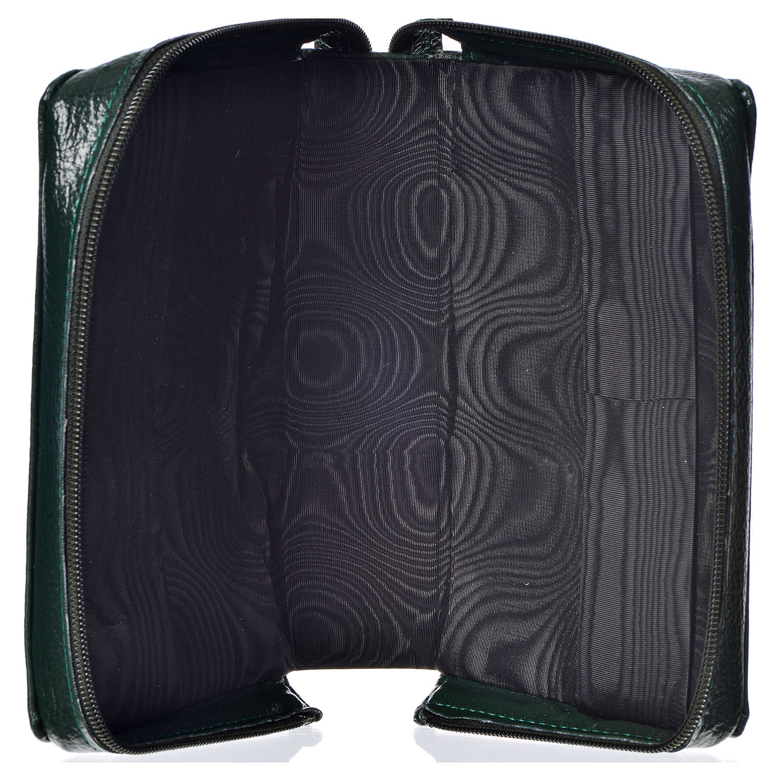 Divine office cover, green bonded leather Divine Mercy 4