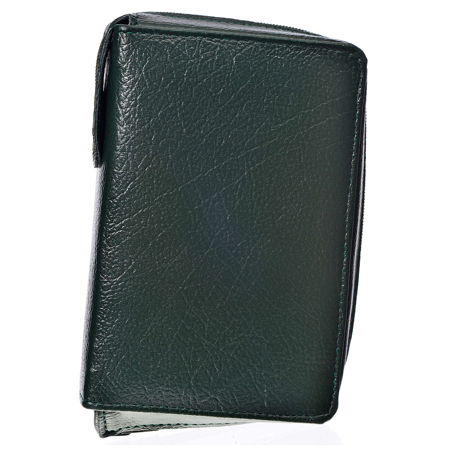 Divine Office cover in green bonded leather 4