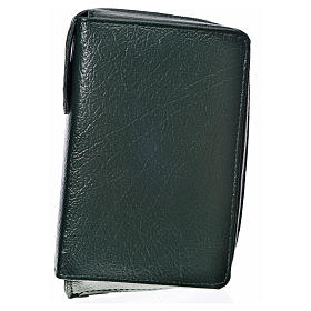 Divine Office cover in green bonded leather s1