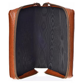 Divine Office cover in brown bonded leather with image of the Holy Family s3