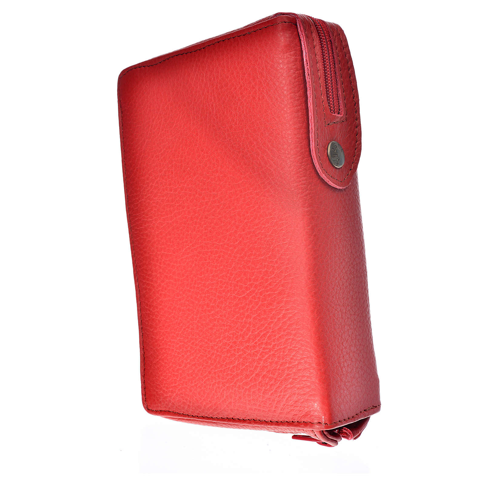 Cover for the Divine Office red leather Our Lady of Kiko 4