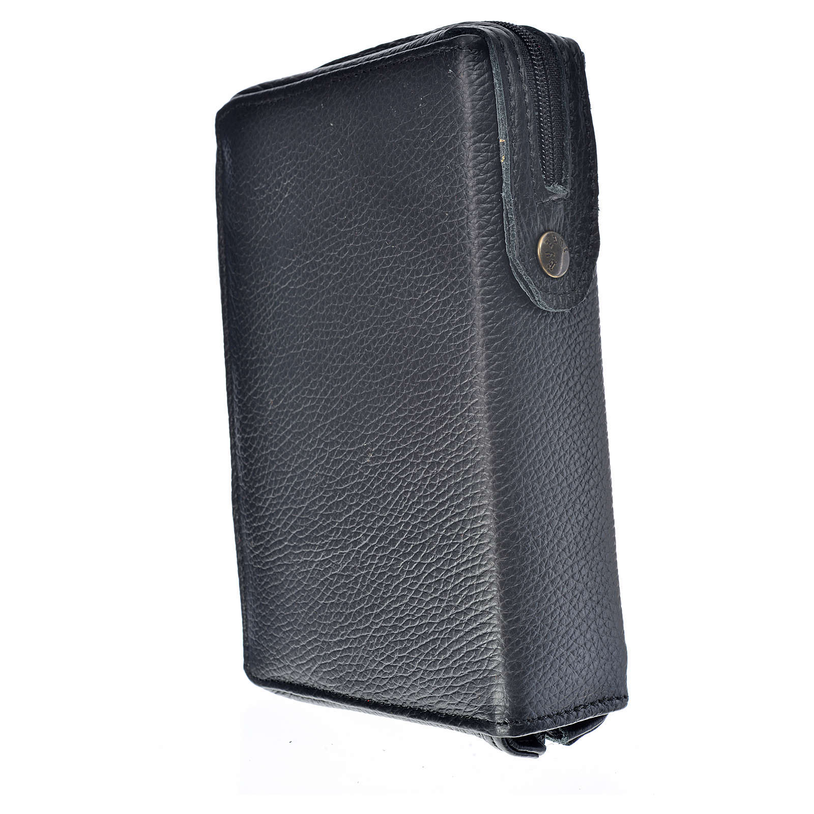 Divine office cover black leather Divine Mercy 4