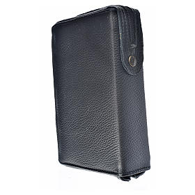 Divine office cover black leather Divine Mercy s2