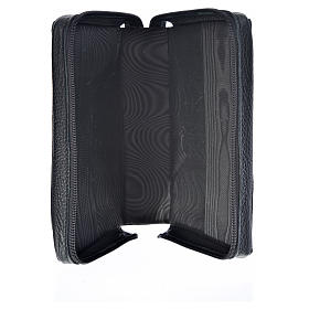 Divine office cover black leather Divine Mercy s3