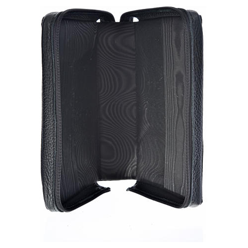 Divine office cover black leather Divine Mercy 3