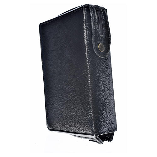 Divine office cover black bonded leather Divine Mercy image 2